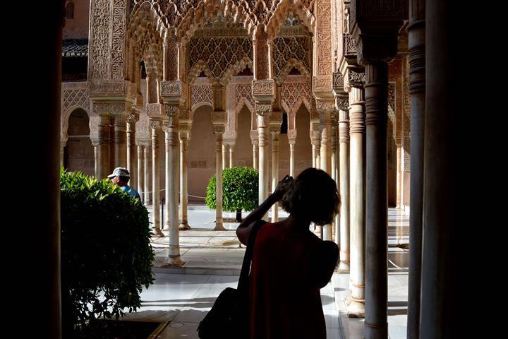 Spain's most-visited site: the regal Alhambra in Granada