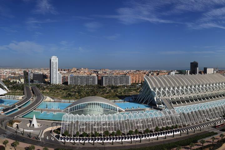 The City of Arts and Sciences in Valencia: Part 1