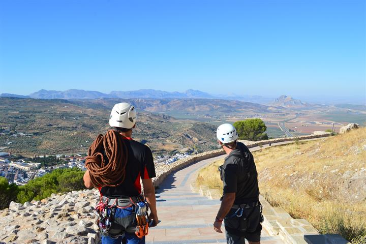 The Via Ferrata Sierra de Gracia, Archidona - Malaga