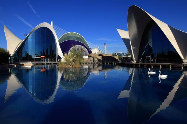 The City of Arts and Sciences in Valencia: Part 2