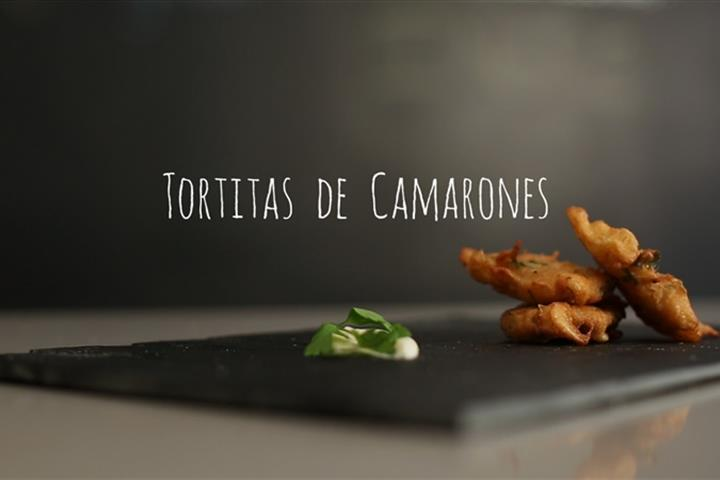 Spanish Recipe: How to make Tortillitas de Camarones