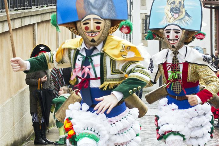 The magical carnivals of Galicia's villages