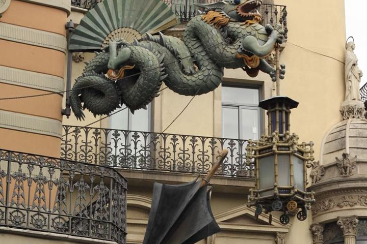 The Mysterious Side of Barcelona: Dragons, Death, and Mythology
