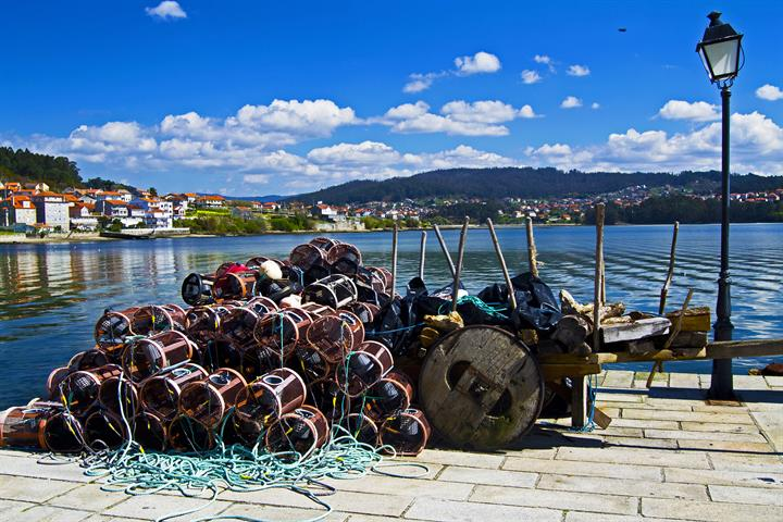 The most beautiful villages of Galicia: Combarro