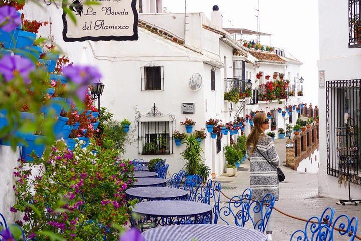 Mijas Pueblo - a View of the Costa del Sol