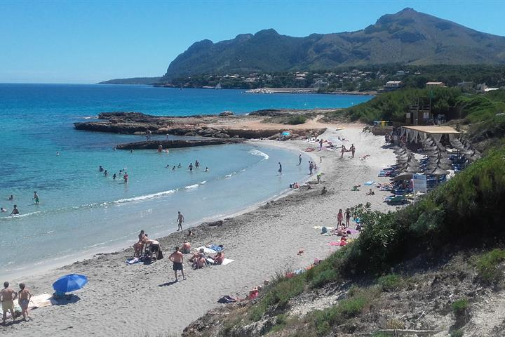 The Beautiful Beaches in Alcudia, Mallorca