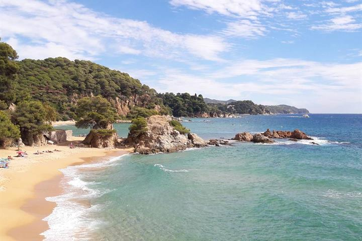 The 5 beaches of Blanes