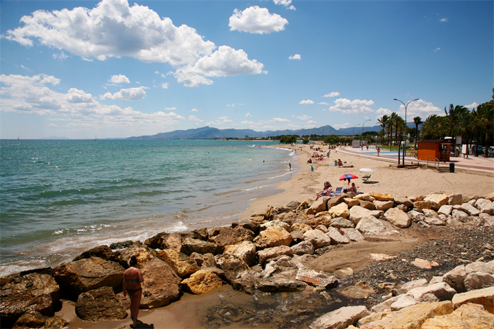 The Mediterranean beaches of Cambrils