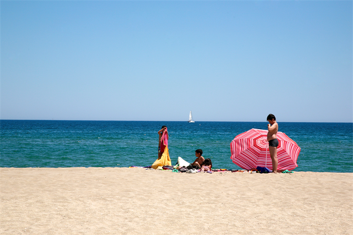 The best beaches for summer holidays in Empuriabrava