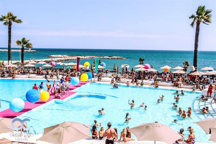 Best Pool Parties Marbella