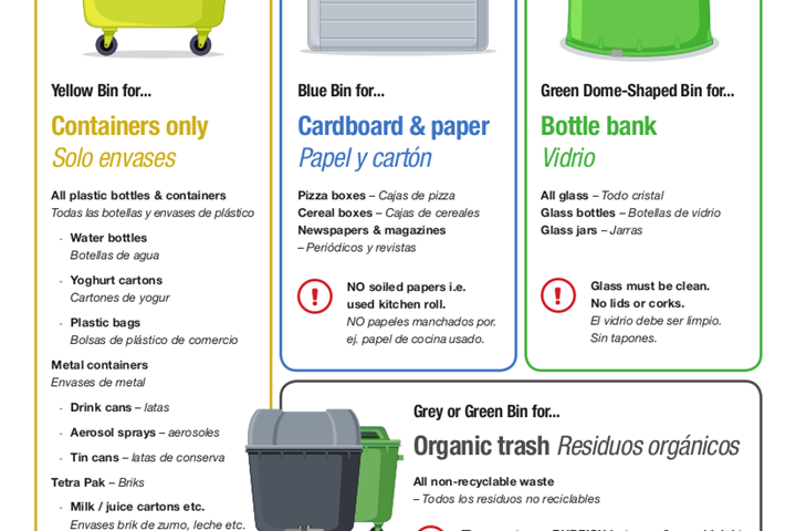 How to encourage holiday rental guests to recycle