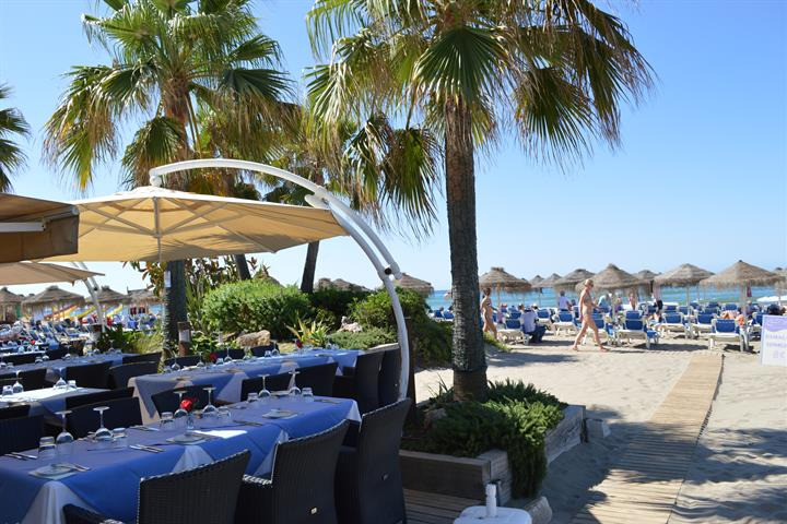 Best beach clubs Marbella - The Beach House, Elviria