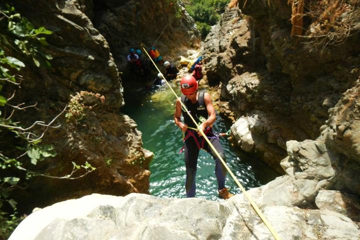 Canyoning - Barranquismo - in Andalucia