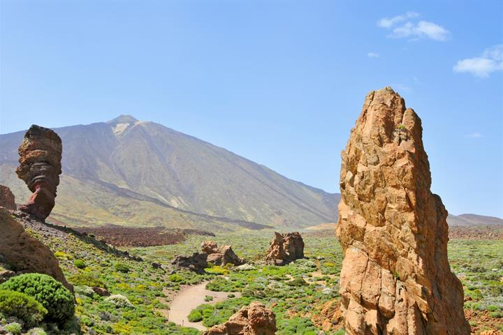 Hiking on Tenerife's Mount Teide
