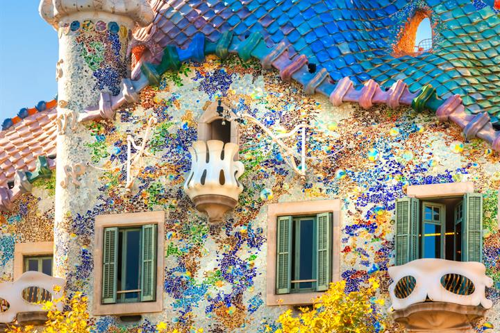 The genius of Gaudí: Casa Batlló, Barcelona