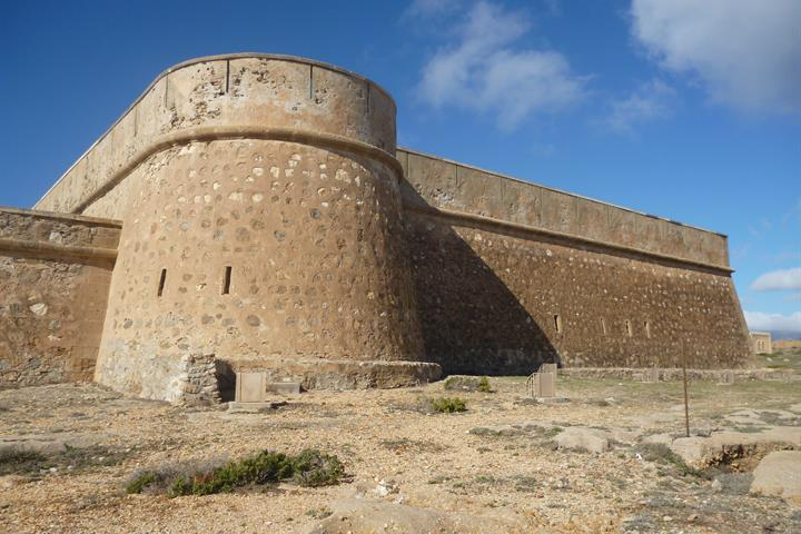 A visit to a fortified castle in Almería