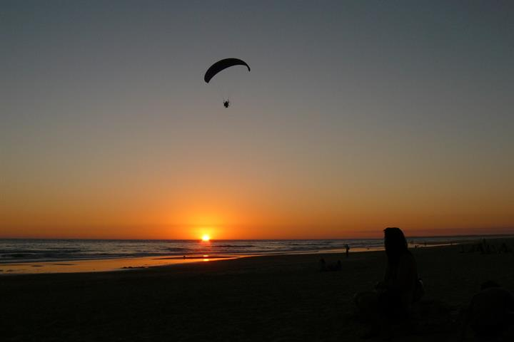Best sunset on the Costa de la Luz, Playa el Palmar