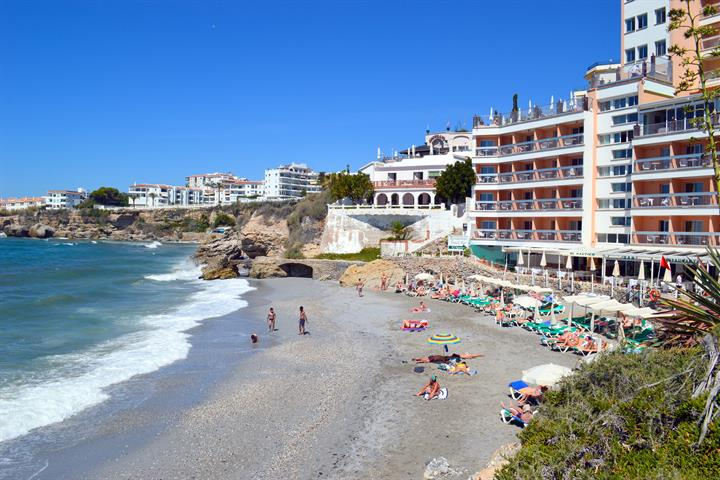 La Caletilla beach - Playa La Caletilla, Nerja