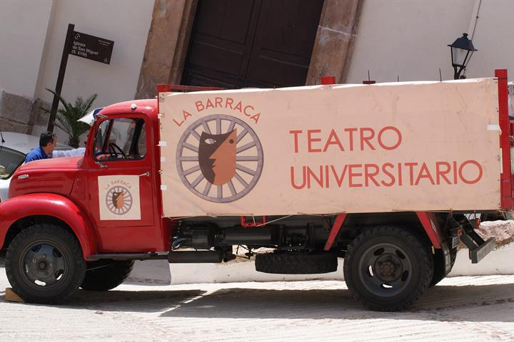 Lorca's travelling theatre in Andalucia