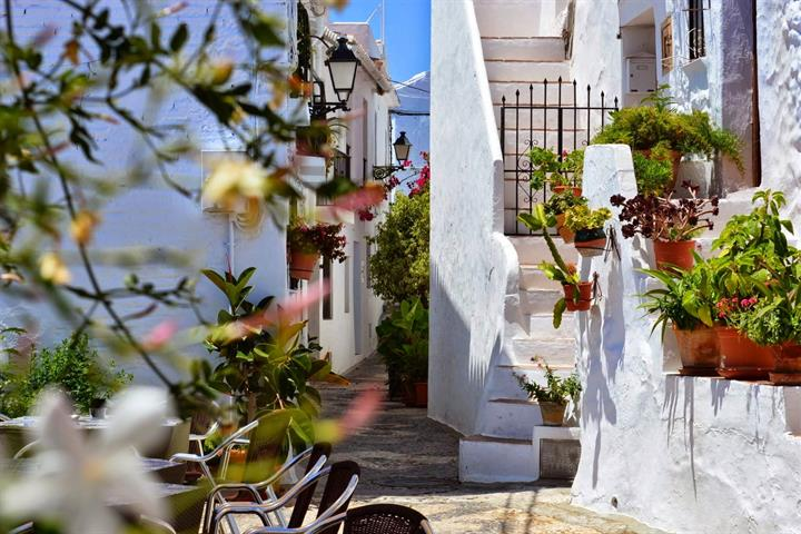 Visiting the village of Frigiliana, Costa del Sol