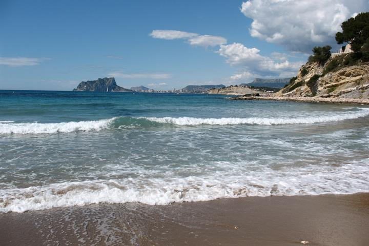 Enjoy Moraira's best family beaches on your Spain holiday