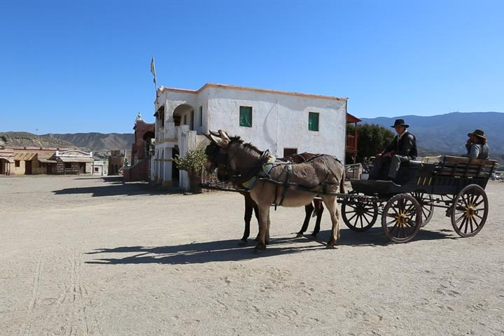 Tabernas Desert: a visit to Hollywood in Almería