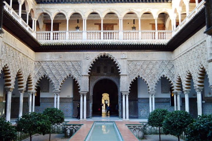 Exploring the Royal Alcázar of Seville