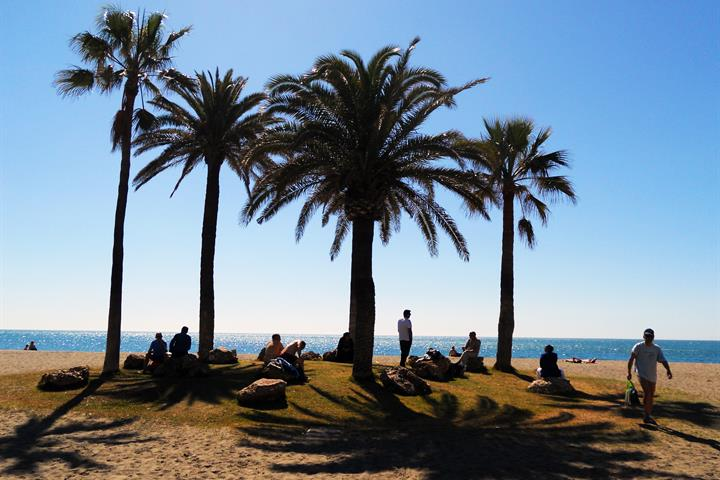 The Beaches of Torremolinos - Playamar