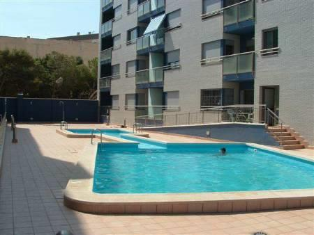 Communal pool and patio