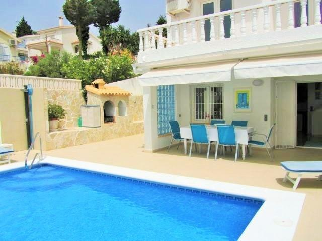 "Private pool -can be ""Heated"", solar pool side shower,dining,Bbq"