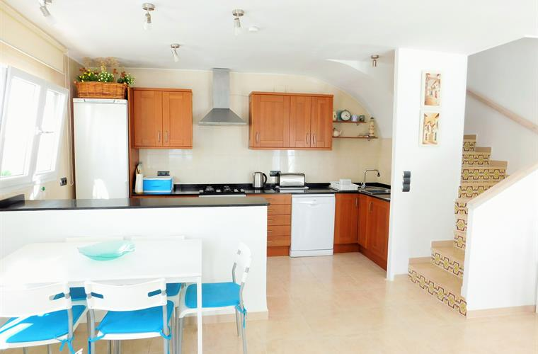 Fully equipped kitchen ,quality appliances,utensils ,crockery