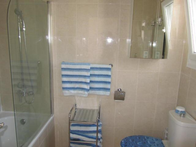 upstairs bathroom .Full size bath,power shower ,storage and lots o
