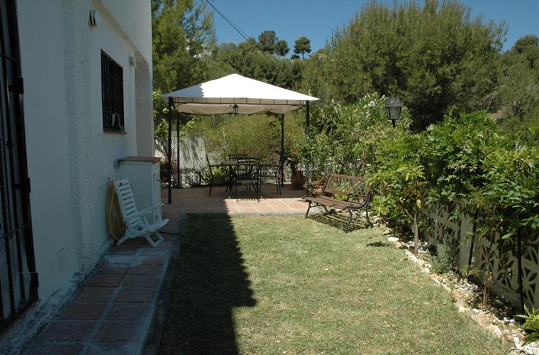 patio y jardin
