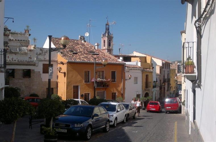 Sagunto, old city center