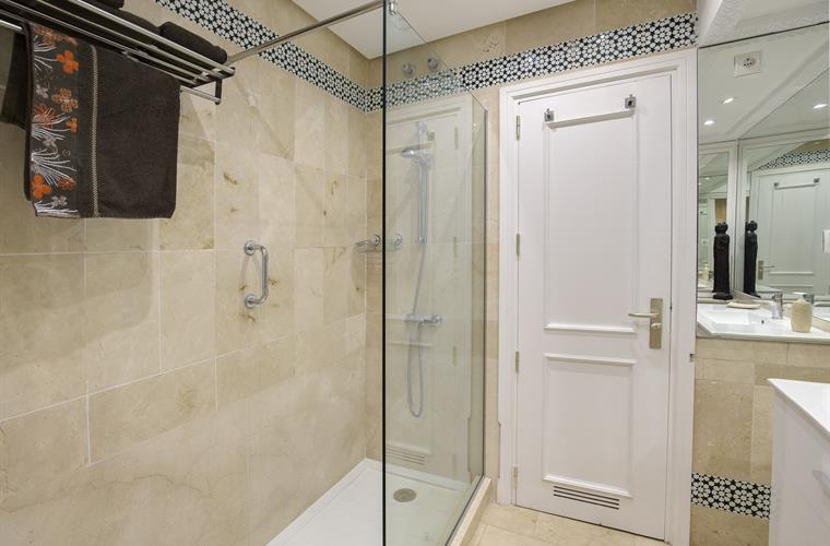 Second Bathroom - Walk in shower, WC, Bidet & vanity unit