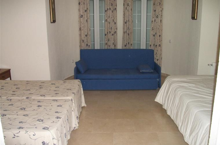 First Floor - Bedroom (1 double, 2 single beds, sofa bed 2 pers.)