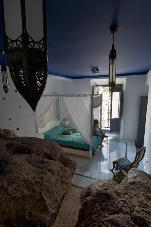 The Cave bedroom