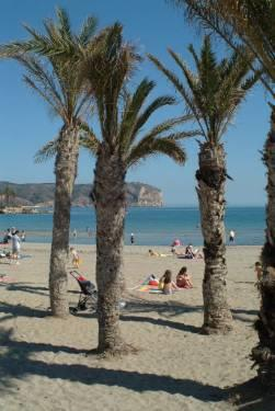 Beach at Javea