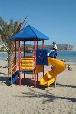 Childrens play area Javea beach