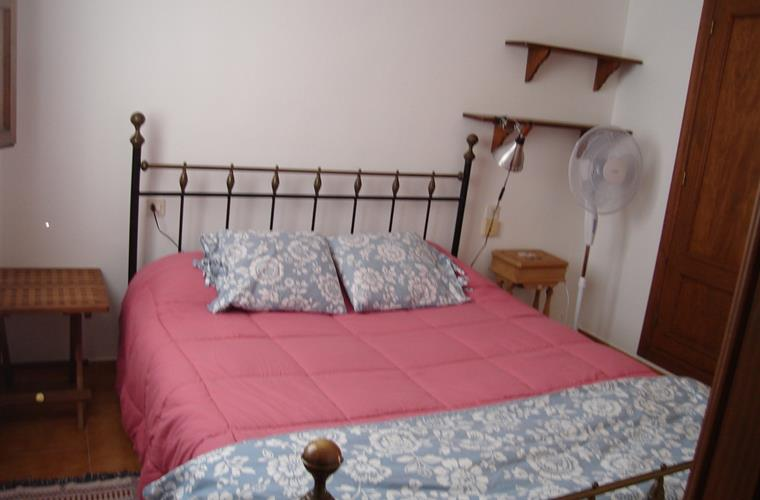 Queen size bed in Master