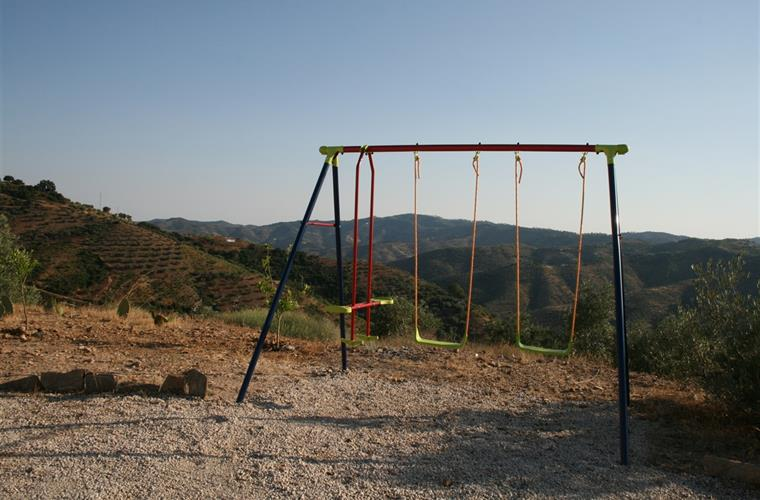 The swing for the kids.