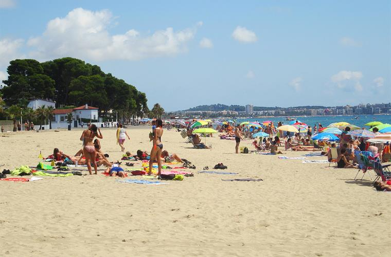 Beach in Vilafortuny