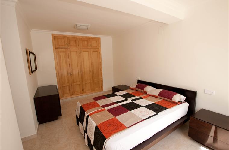 Masterbedroom with double bed