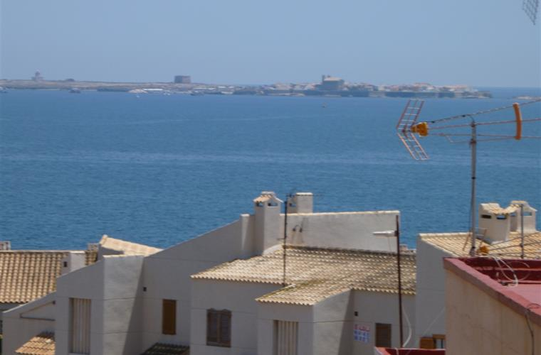 view of tarbarca island from the terrace