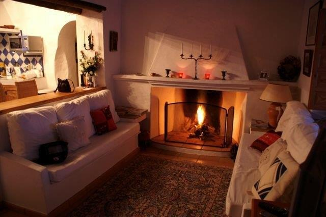 Cosy Sitting room in Winter