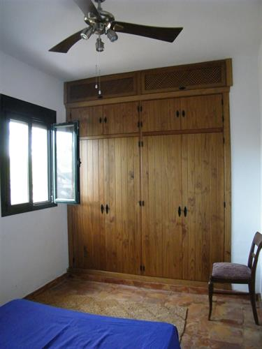 main bedroom with wardrobe