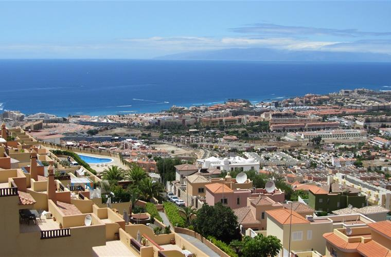 Playa de las Americas - Property is in the center of photo