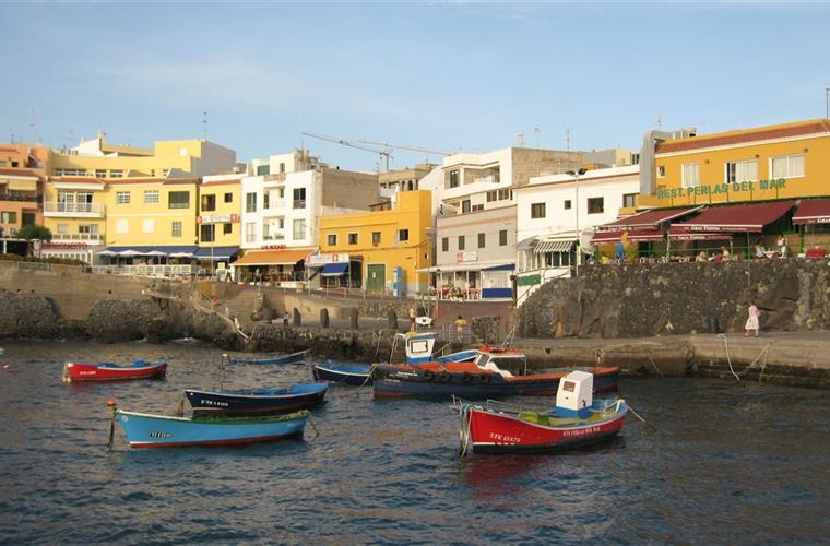 Los Abrigos - wellknown fishing village