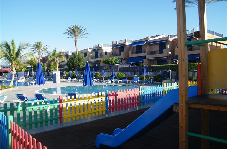 CHILDREN PLAYGROUND with POOL