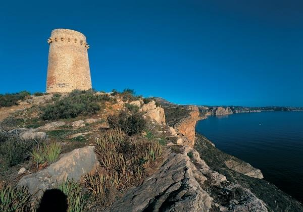 Moraira watch tower
